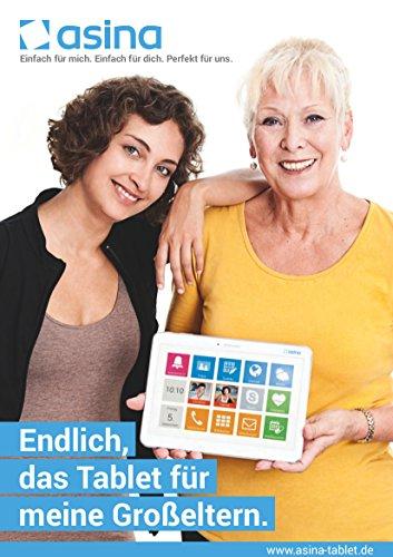 asina – Tablet für Senioren – Seniorentablet - 2
