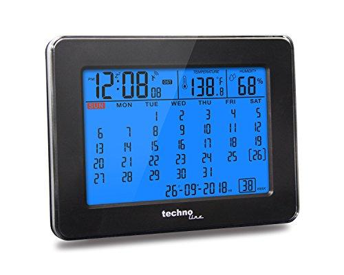 Technoline Digitaler Kalender WT 2500 mit Funkuhr, Innentemperaturanzeige und Innenluftfeuchteanzeige - 2