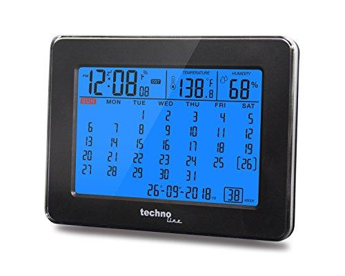 Technoline Digitaler Kalender WT 2500 mit Funkuhr, Innentemperaturanzeige und Innenluftfeuchteanzeige - 3