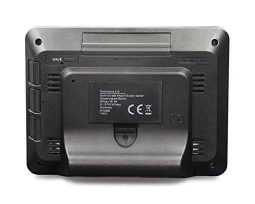 Technoline Digitaler Kalender WT 2500 mit Funkuhr, Innentemperaturanzeige und Innenluftfeuchteanzeige - 4