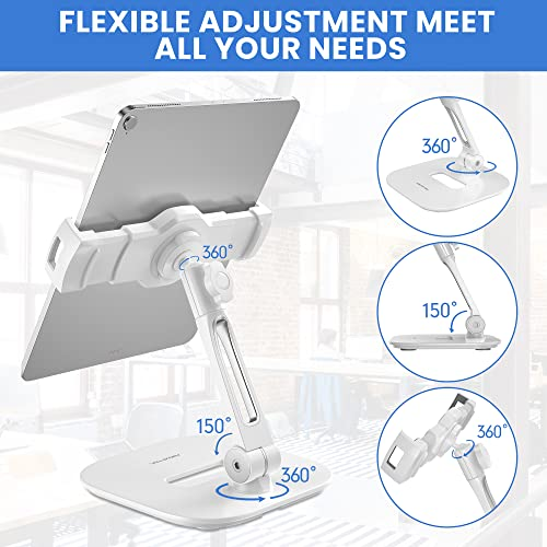 Aluminium Tablet und Handy Ständer, Faltbare 360° - 4