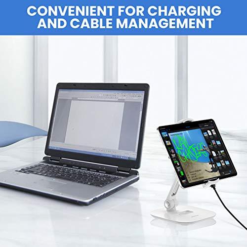 Aluminium Tablet und Handy Ständer, Faltbare 360° - 7