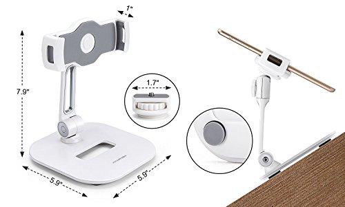 Aluminium Tablet und Handy Ständer, Faltbare 360° - 8