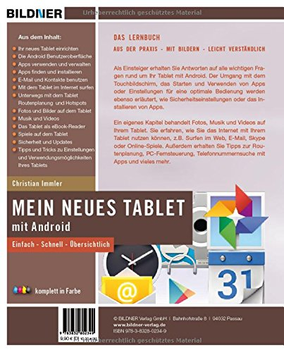 Mein neues Tablet - Android Tablet für Einsteiger (Sonderausgabe): Leicht verständlich - komplett in Farbe! - 2