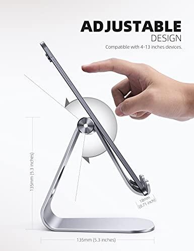 iPad Ständer verstellbar, Silber - 3