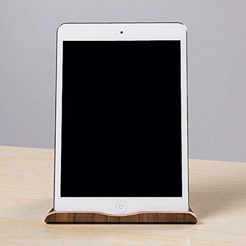 SAMDI Universal Holz Tablet PC Ständer Gerätehalter Halterung für Apple iPad Mini Air 2 3 4 iPhone 6 Samsung Galaxy 10.1 S5 S4 Lenovo LG Google Nexus PAD - 6