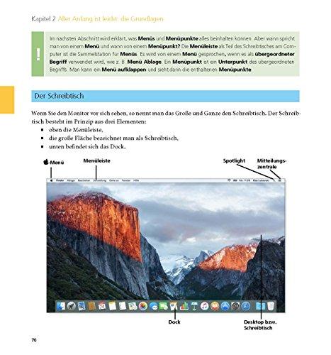 Der Mac für Junggebliebene – Ein Einstieg in die Welt der Apple Computer für die Generation 50+ keinerlei Vorkenntnisse notwendig. - 17