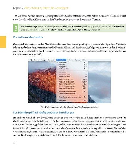 Der Mac für Junggebliebene – Ein Einstieg in die Welt der Apple Computer für die Generation 50+ keinerlei Vorkenntnisse notwendig. - 18