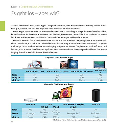 Der Mac für Junggebliebene – Ein Einstieg in die Welt der Apple Computer für die Generation 50+ keinerlei Vorkenntnisse notwendig. - 4