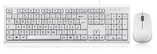 Tastatur und Maus Set Kabelgebunden