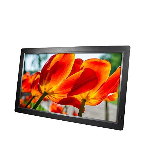 """Rollei Gauguin DPF-18.5"""" Full HD - Digitaler Multimedia Bilderrahmen mit 18,5"""" (47 cm) TFT-LED Panel, Bild-, Video-, Musik-, Kalender- und Uhr-Funktion, inkl. Fernbedienung - Schwarz - 4"""
