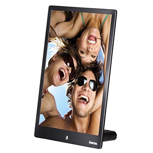 Hama Digitaler Bilderrahmen Slim im Hochformat (ideal für Portäts, 20,32 cm (8 Zoll), SD/SDHC/MMC-Kartenslot) schwarz - 7