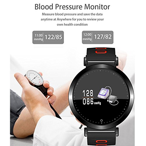 Flying Hedwig Smart Watch Bluetooth Sportuhr M10 - 5