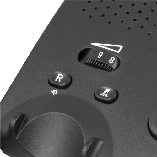 Doro PhoneEasy 331ph Schnurgebundenes Großtastentelefon mit 3 Direktwahl-Fototasten schwarz - 4