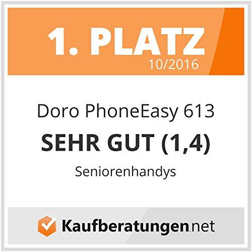 Doro PhoneEasy 613 Mobiltelefon im Klappdesign - 8