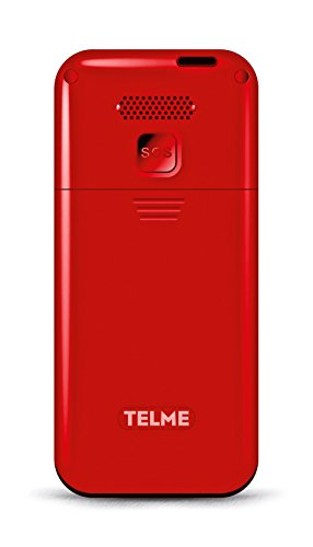 Emporia TELME C151 (Extragroße Beleuchtete Großtastenhandy) Rot - 3