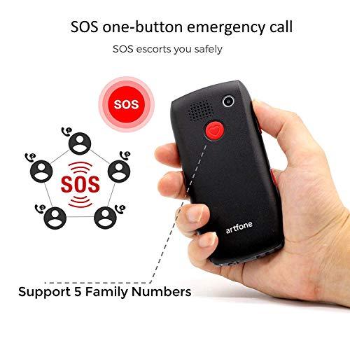 GSM Seniorenhandy mit Notruftaste - 5