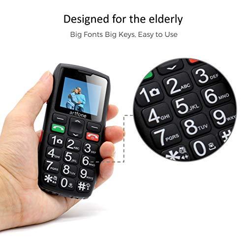 GSM Seniorenhandy mit Notruftaste - 4