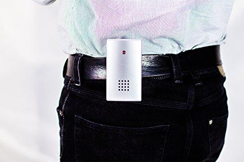 Funk-Klingelmatte Alarm-Trittmatte mit 2 Empfänger - 6
