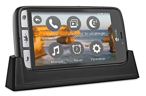 Doro 8031 4G Smartphone (11,4 cm (4,5 Zoll), LTE, 5 MP Kamera, Android 5.1) schwarz/stahl - 5