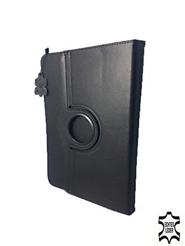 Tablet Senior oder Anfänger simplicitab – Drehbare Schutztasche mit Standfunktion + Touch Pen – 10.1 Zoll Echtleder 360° Schwarz - 4