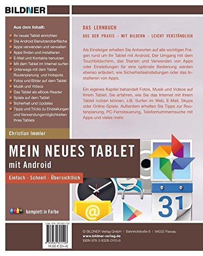 Mein neues Tablet – Android Tablet für Einsteiger: Leicht verständlich – komplett in Farbe! - 2