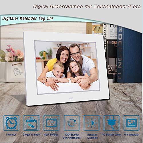 Digitaler Kalender Tag Uhr | Alzheimeruhr | Seniorenuhr - 7