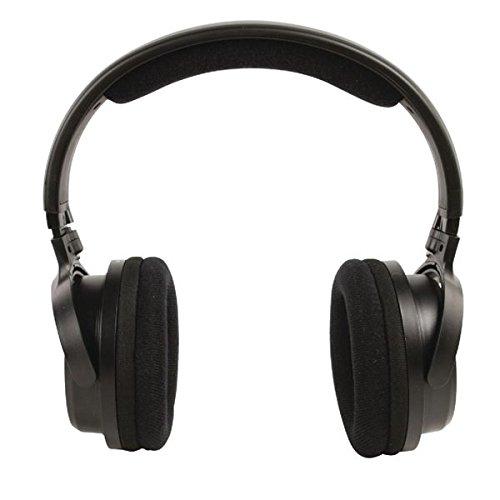 Kabelloser Kopfhörer Funkkopfhörer bis zu 80m Reichweite für TV Fernseher PC RADIO MP3 und weitere Audio Geräte - 2