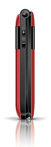 Emporia F220 Großtastenhandy (Farbdisplay) Wecker mit Schlummerfunktion rot - 5