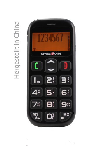 swisstone BBM 320 – Seniorenhandy mit Notruftaste (4,3 cm (1,7 Zoll) Display, 600mAh Akku) schwarz - 5
