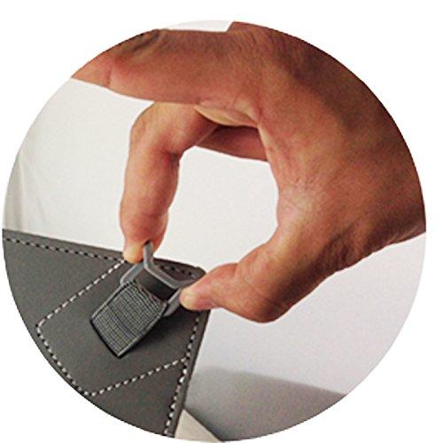 3er Starter Set: Asina Tablet für Senioren 10.1 / 25,65cm Tablet Pc Tasche + Touch Pen + Profi Staubschutz Stöpsel – 10 Zoll Schwarz 3 in 1 * - 5