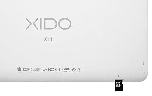 XIDO X111, 10 Zoll Tablet Pc, IPS Display 1280×800, Android 5.1 Lollipop, (25,7 cm), 1GB RAM, 16GB Speicher, Bluetooth, Kamera, Pc, Computer 10,1 Zoll - 3