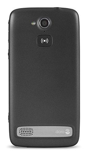 Doro Liberto 820 3G Smartphone (11,4 cm (4,5 Zoll) Touchscreen, 8 Megapixel Kamera, 1 GB RAM, GPS, Bluetooth 4.0, WiFi, Android 4.4) mit Experience Benutzeroberfläche schwarz - 2
