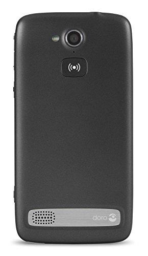 Doro Liberto 820 3G Smartphone (11,4 cm (4,5 Zoll) Touchscreen, 8 Megapixel Kamera, 1 GB RAM, GPS, Bluetooth 4.0, WiFi, Android 4.4) mit Experience Benutzeroberfläche schwarz - 4