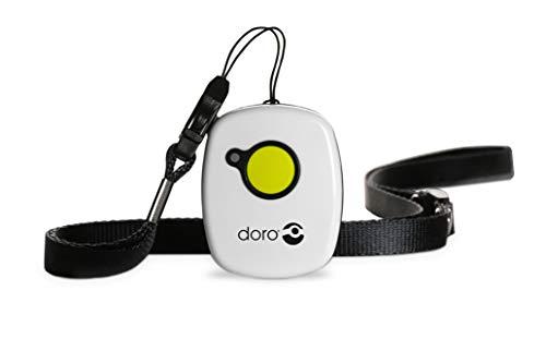 Doro Secure 347 Schnurgebundenes Großtastentelefon mit 4 Direktwahl-Fototasten inkl. 2 mobilen Notrufalarmgebern, weiß - 7