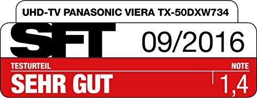 Panasonic TX-50DXW734 Viera 126 cm (50 Zoll) Fernseher (4K Ultra HD, 1400 Hz BMR, HDR High Dynamic Range, Quattro Tuner mit Twin-Konzept, Smart TV) - 15