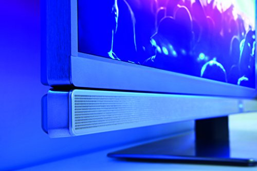 Philips 55PUS7181/12 139,7 cm (55 Zoll) Ultraflacher Android 4K-Fernseher (3-seitigem Ambilight und PixelPrecise Ultra HD) -