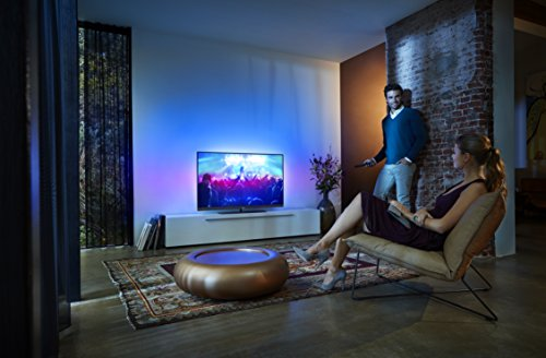 Philips 55PUS7181/12 139,7 cm (55 Zoll) Ultraflacher Android 4K-Fernseher (3-seitigem Ambilight und PixelPrecise Ultra HD) - 5