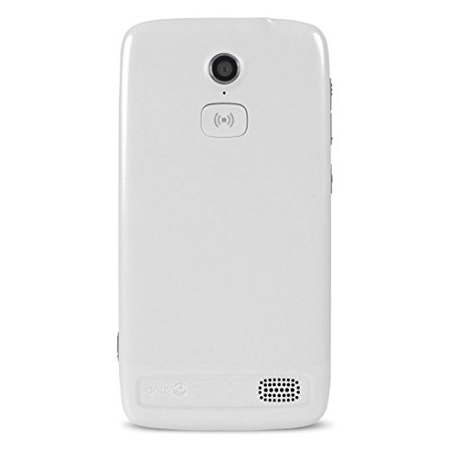 Doro 8031 4G Smartphone (11,4 cm (4,5 Zoll), LTE, 5 MP Kamera, Android 5.1) weiß/silber - 2