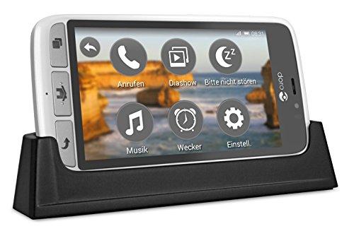 Doro 8031 4G Smartphone (11,4 cm (4,5 Zoll), LTE, 5 MP Kamera, Android 5.1) weiß/silber - 6