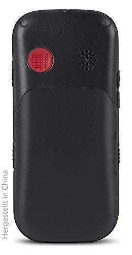 swisstone BBM 320c – GSM-Mobiltelefon mit großem beleuchtetem Farbdisplay, schwarz - 2