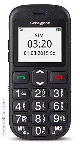 swisstone BBM 320c – GSM-Mobiltelefon mit großem beleuchtetem Farbdisplay, schwarz - 11