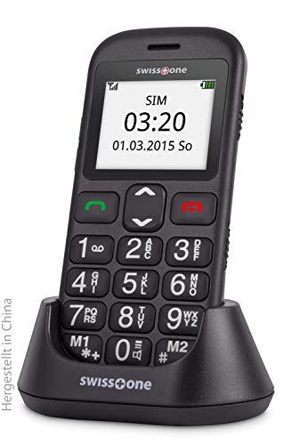 swisstone BBM 320c – GSM-Mobiltelefon mit großem beleuchtetem Farbdisplay, schwarz - 6