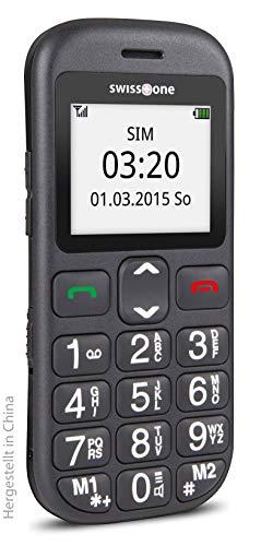 swisstone BBM 320c – GSM-Mobiltelefon mit großem beleuchtetem Farbdisplay, schwarz - 7