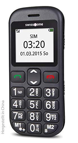 swisstone BBM 320c – GSM-Mobiltelefon mit großem beleuchtetem Farbdisplay, schwarz - 4