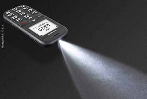 swisstone BBM 320c – GSM-Mobiltelefon mit großem beleuchtetem Farbdisplay, schwarz - 9