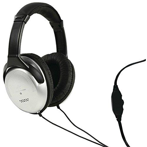 EQT-TEC - Fullsize TV Fernseher Kopfhörer Headphones - mit 6 Meter Kabel