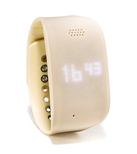 ZEMBRO Notrufarmband für Senioren - Hausnotruf, Notrufuhr und Notfalltelefon in einem dezenten Armband