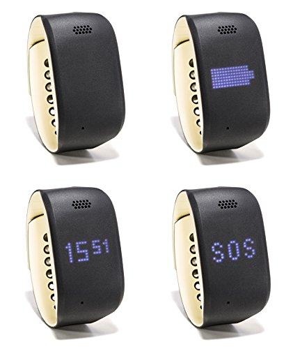 ZEMBRO Notrufarmband für Senioren – Hausnotruf, Notrufuhr und Notfalltelefon in einem dezenten Armband - 2