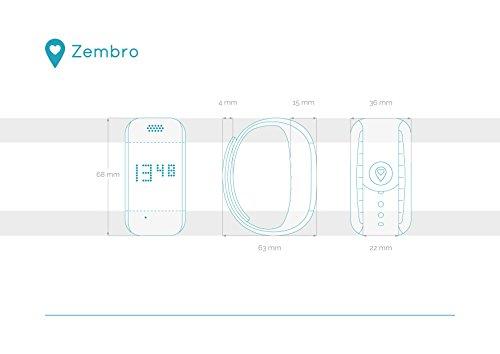 ZEMBRO Notrufarmband für Senioren – Hausnotruf, Notrufuhr und Notfalltelefon in einem dezenten Armband - 7